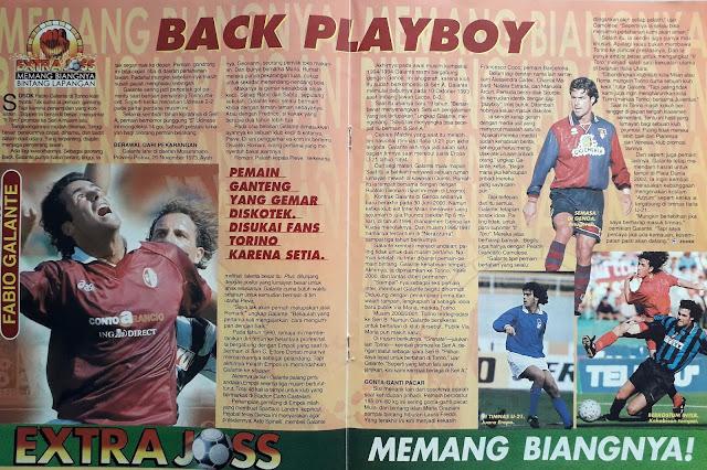 BINTANG LAPANGAN: FABIO GALANTE BACK PLAYBOY