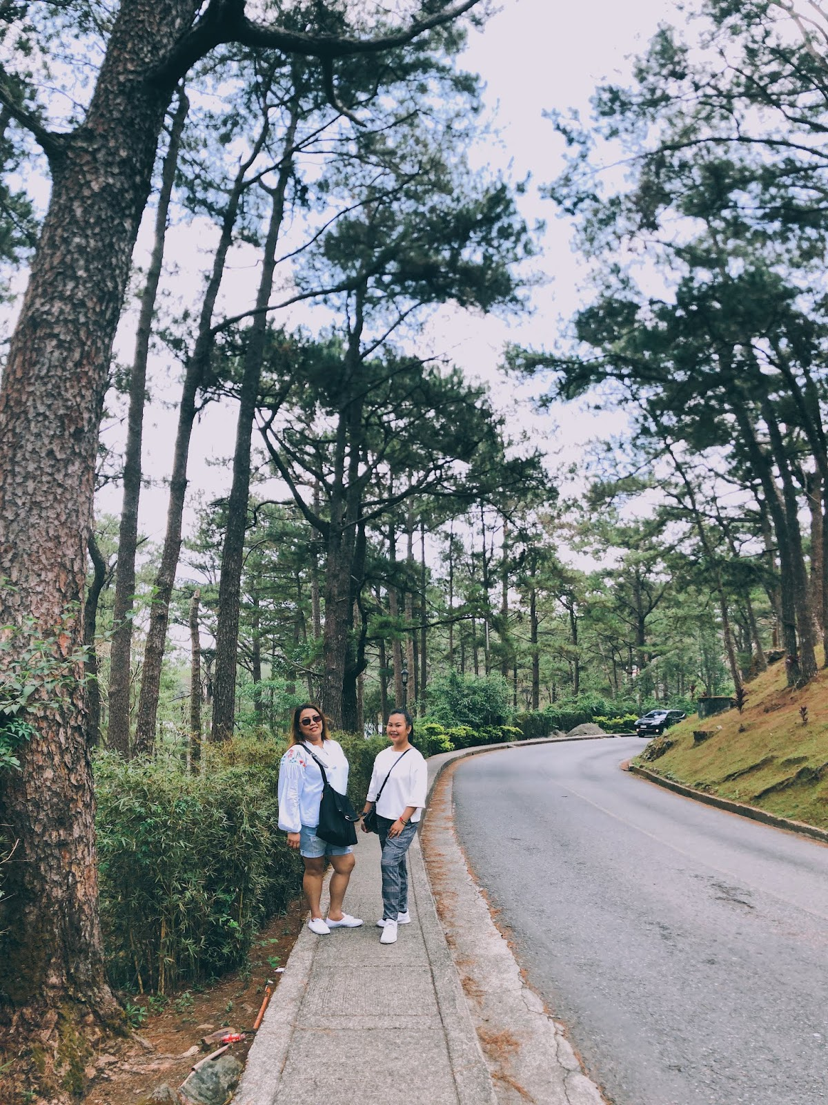 Walking around camp john hay