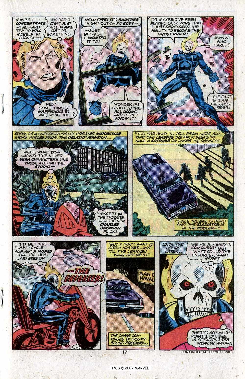 Ghost Rider (1973) Issue #22 #22 - English 19