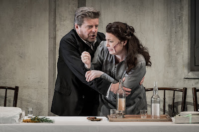 Janacek: Jenufa - Peter Hoare, Natalya Romaniw - Grange Park Opera (Photo Robert Workman)