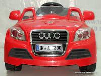 2 Mobil Mainan Aki JUNIOR JB28 Audi - 2 Kursi