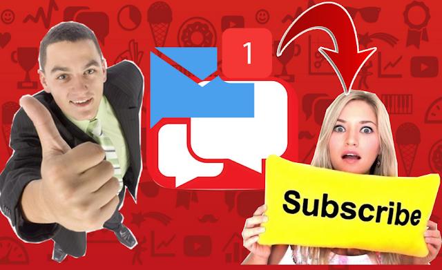 طريقة مدهشة ارسال رسالة لجميع المشتركين على قناة اليوتيوب بضغطة وحدة