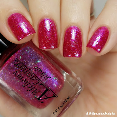 Alchemy Lacquers Star Shards Collection Altair Swatches and Review