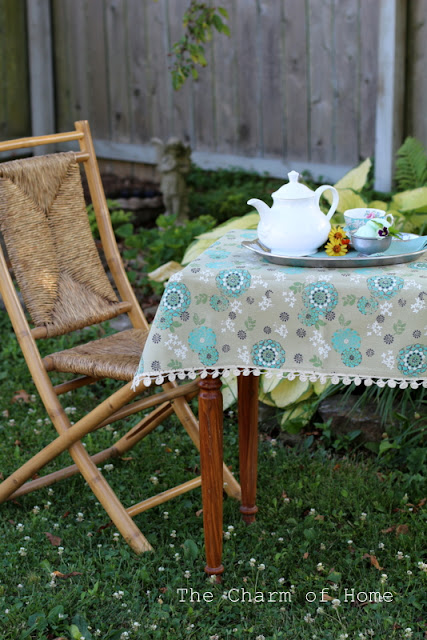 Hello Summer Tea: THe Charm of Home