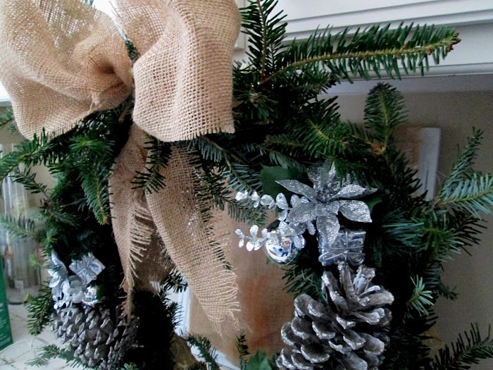Fresh Noble Fir Wreath DIY