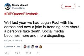 Outcry as trolls spread SICK hoax about Queen's death: 'RIP'