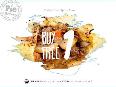 Aussie Pie Harbour Malaysia Buy One Free One