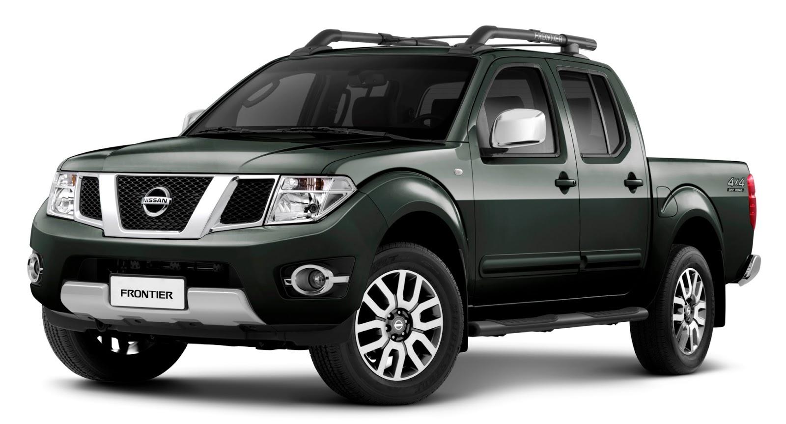 Nissan Apresenta Linha 2014 Da Frontier