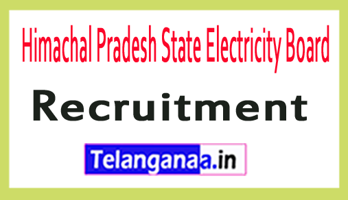 Himachal Pradesh State Electricity Board HPSEB Recruitment Notification