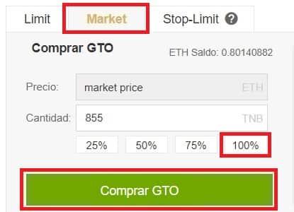Tutorial Comprar y Guardar en Wallet Paso a Paso Gifto (GTO)