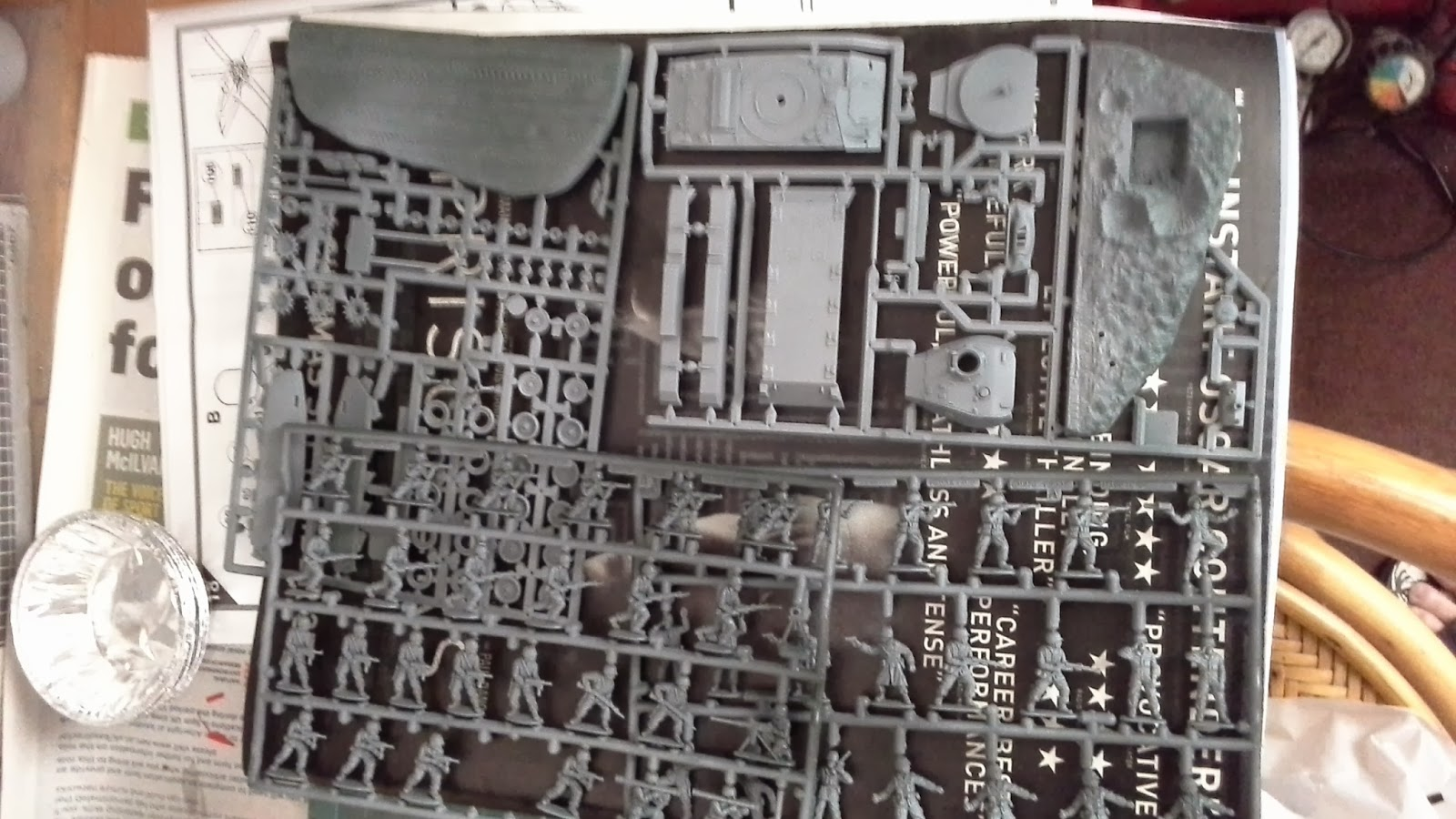 Make Your Own Diorama: Si's Model Works: How To Build A Military Diorama: Weekend