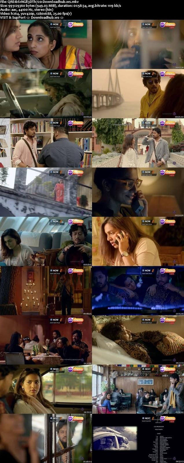 Qarib Qarib Singlle 2017 Hindi 720p DTHRip