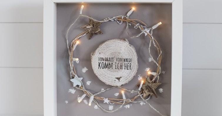House no 43 weihnachtliche dekoration im ikea ribba rahmen for Ikea dekoration