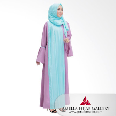 Gamis Amella Hijab
