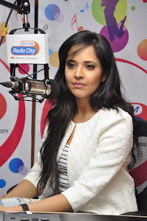 Anasuya Latest Pictures at Radio City ~ Bollywood and South Indian Cinema Actress Exclusive Picture Galleries
