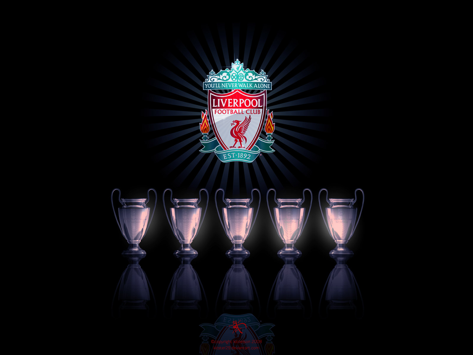 Liverpool FC Wallpapers: Liver Bird (Collection 1