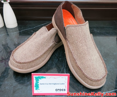 Crocs Fall / Holiday 2013 Collection, crocs shoes, crocs, comfortable stylish shoes, shoes fashion show, Santa Cruz Herringbone Loafer