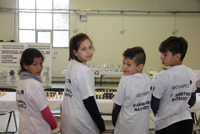 Με συνέπεια και πειθαρχία τα παιδιά της Σκακιστικής Ακαδημίας Ναυπλίου στα Πανελλήνια Μαθητικά Πρωταθλήματα 2018