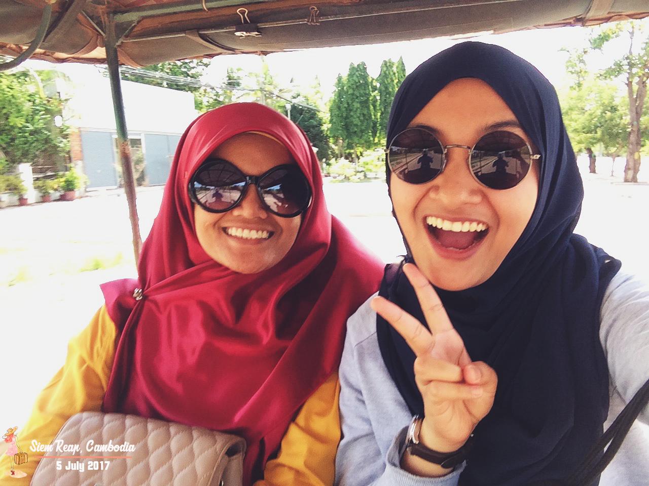 Travel Bajet ke Siem Reap, Cambodia | Departure