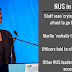 Turmoil continues as NUS investigates President and tells all officers to stay home