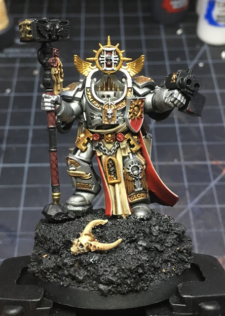 Grey Knights Grand Master Voldus WIP