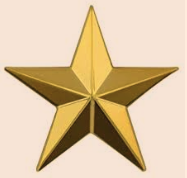 Gold Star Representing Dr. Michael Aaronson's 5 star outstanding rating