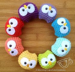 2000 Free Amigurumi Patterns Baby Owl Ornaments Amigurumi Crochet