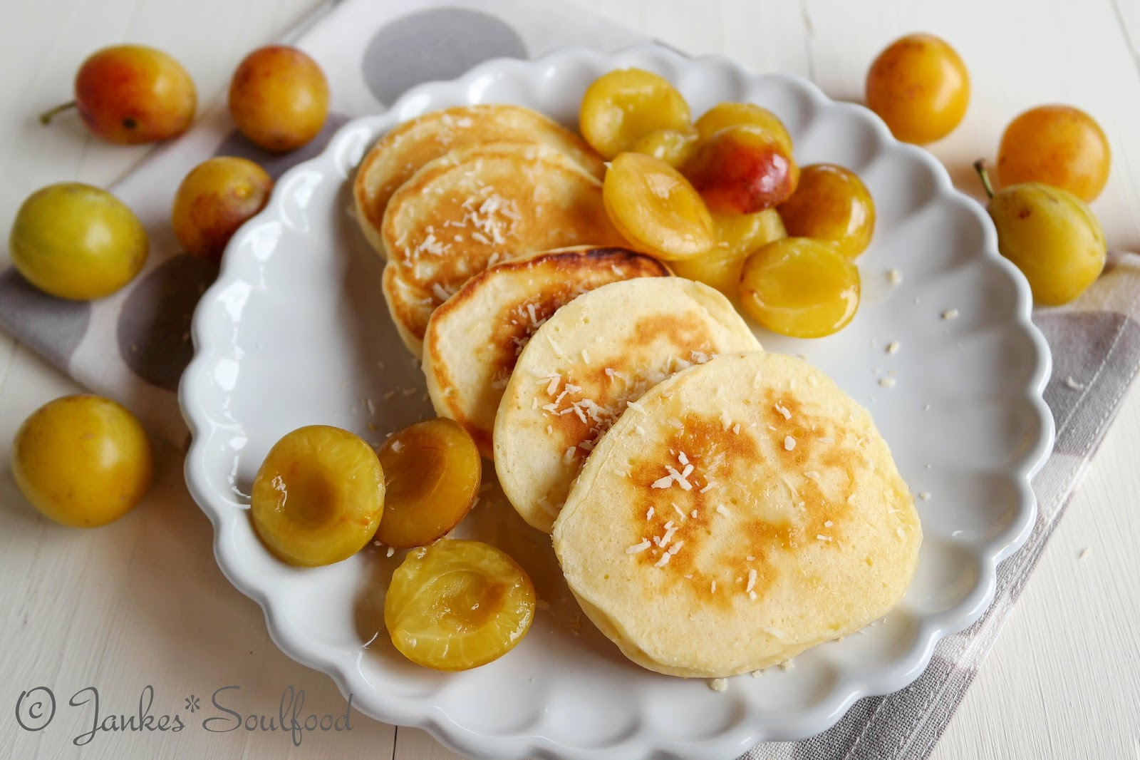Buttermilch-Pancakes von Jankes Soulfood