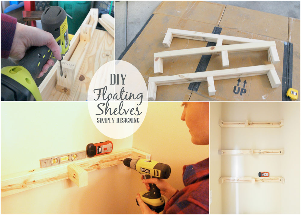how to build floating shelves how to build floating shelves these make a perfect