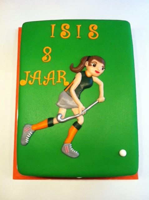 hockey taart Hockey taart | Taarten; Gemaakt door Jonne hockey taart