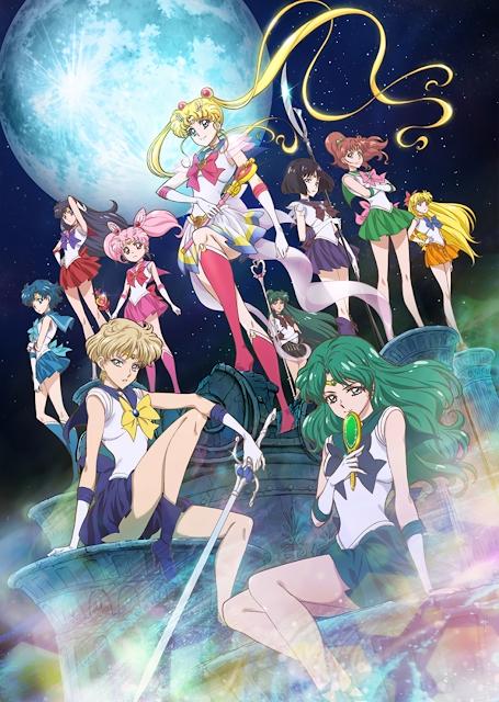 Sailor Moon Crystal : Dead Moon Circus, Actu Japanime, Japanime, Toei Animation, Chiaki Kon,