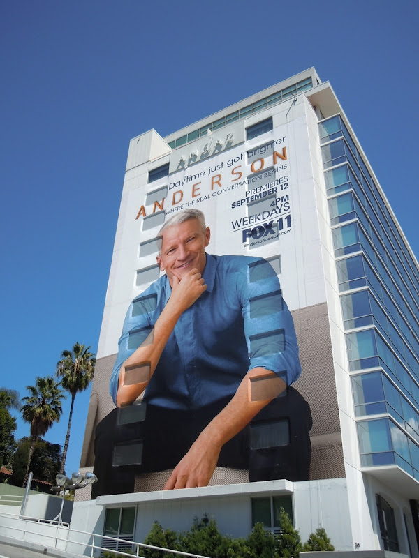 Giant Anderson billboard