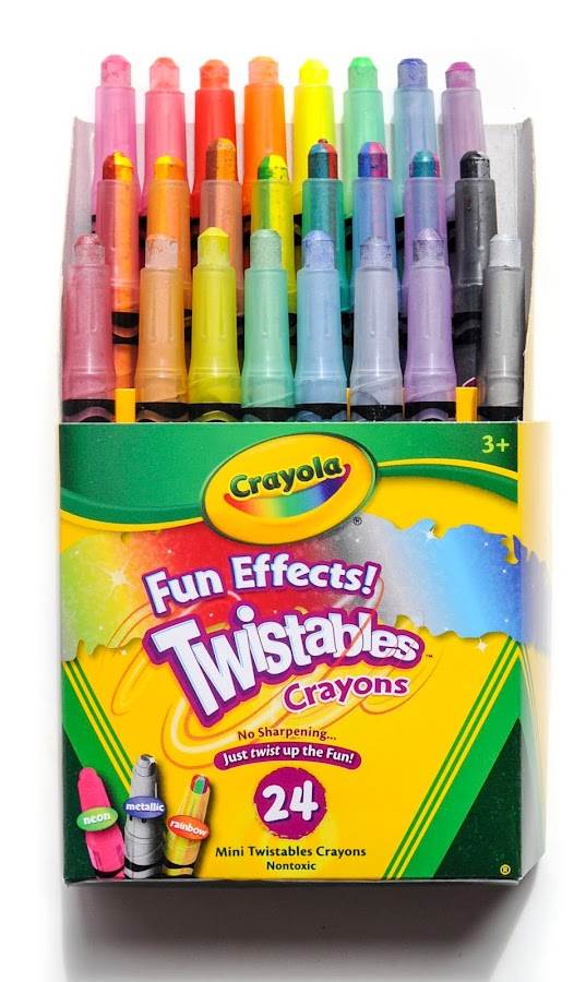 crayola fun effects twistables crayons what s inside the box