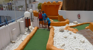 Mini-Golf del Sea Life de Benalmádena.