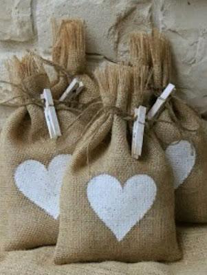 Bolsitas para el arroz de las bodas, bolsitas personalizables para eventos