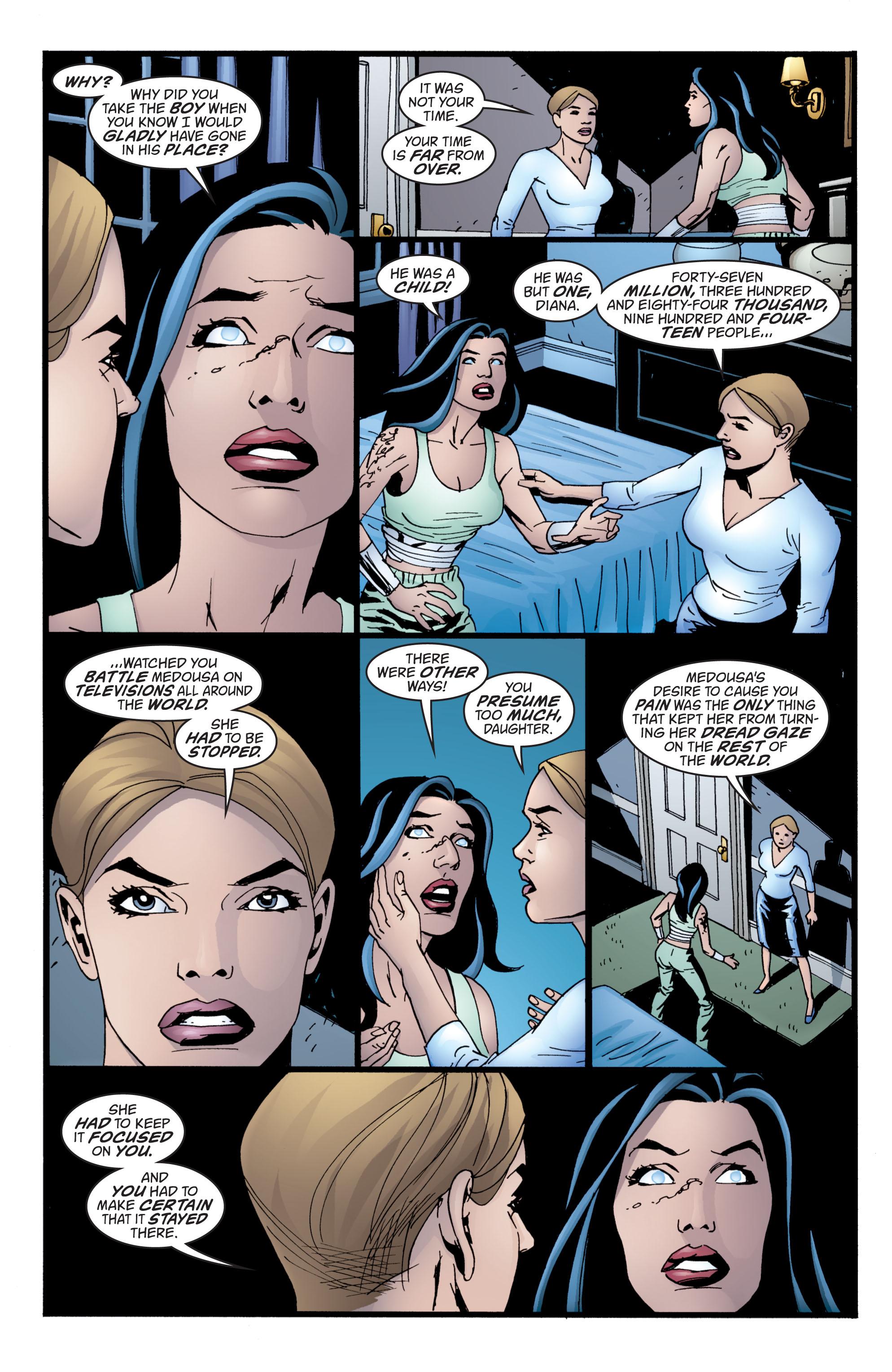 Read online Wonder Woman (1987) comic -  Issue #211 - 22