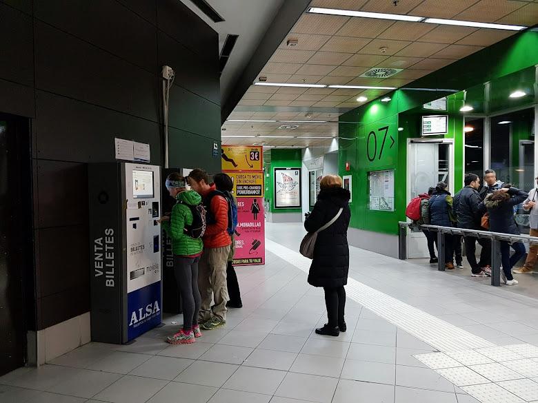 Gate-07 有兩台 ALSA 自動售票機