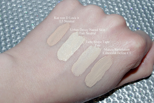 Makeup Revolution Conceal&Define C1