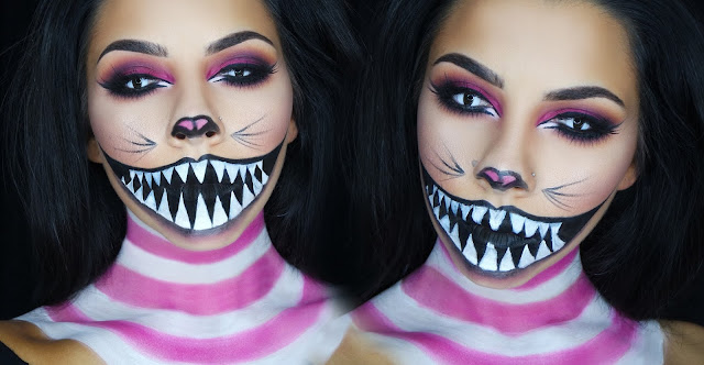 cheshire kitty black cat makeup tutorials images