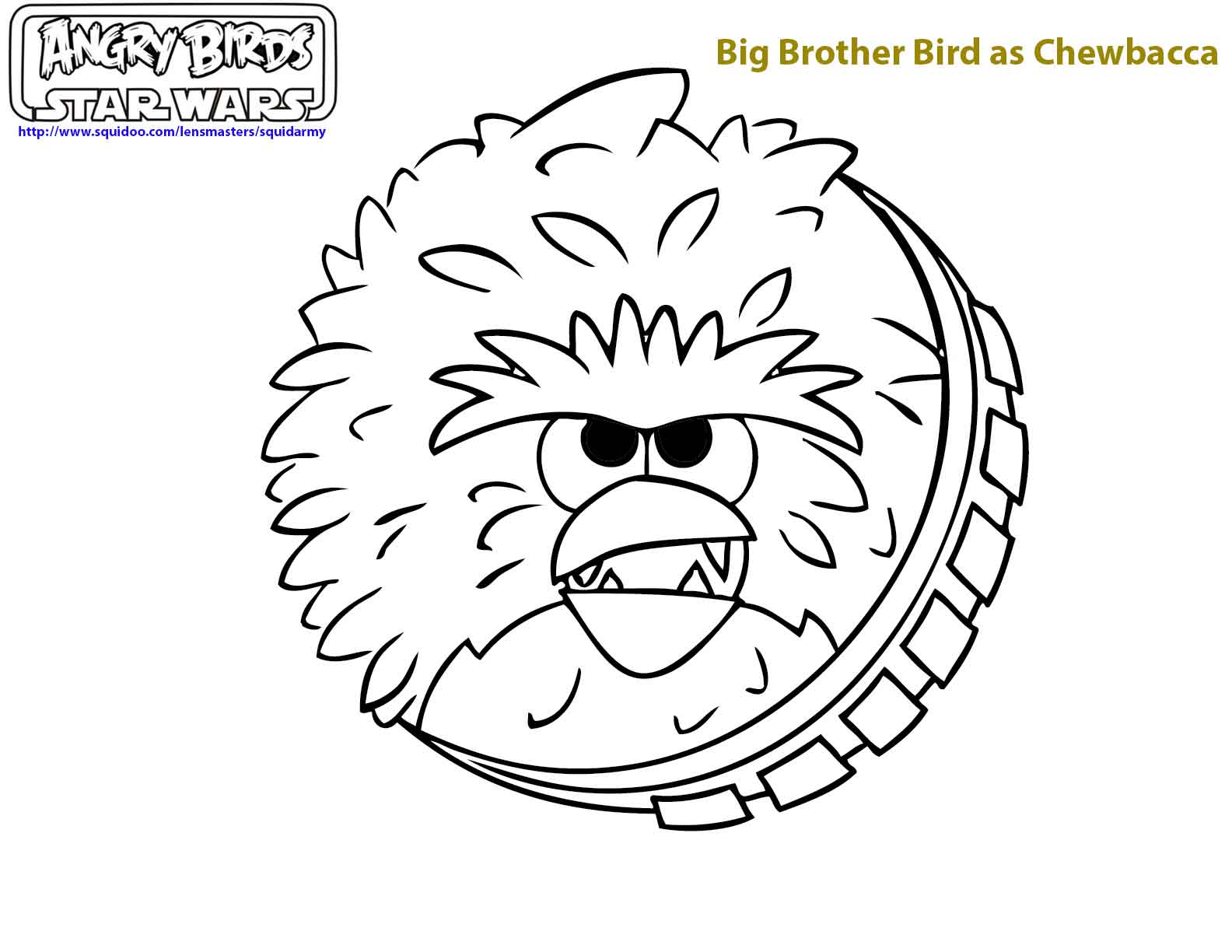 Angry Birds Coloring Pages Ii