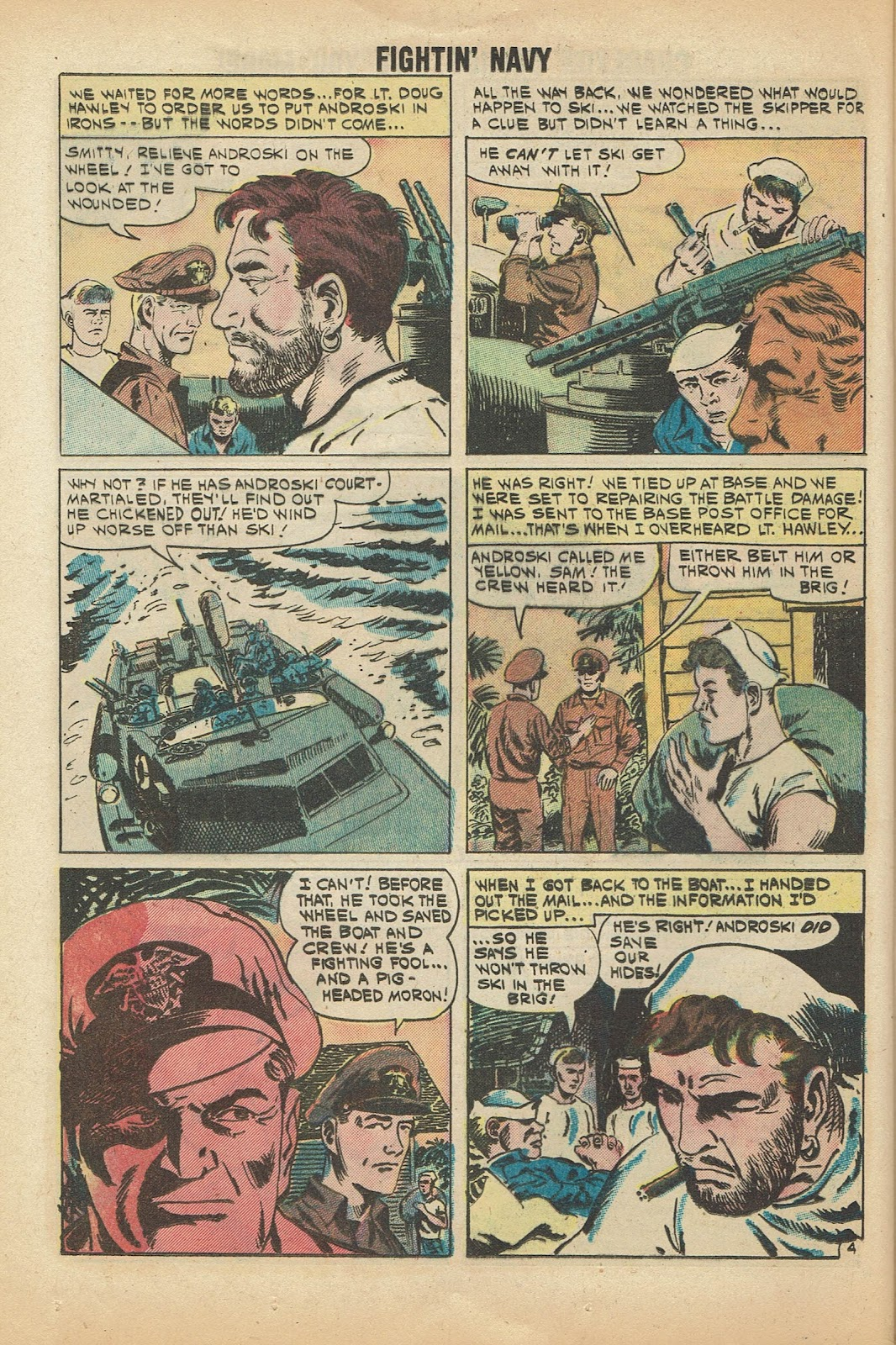Read online Fightin' Navy comic -  Issue #97 - 24