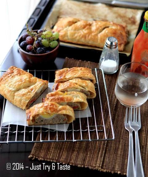 Picnic Roll Daging Sapi-Ayam dengan Telur Rebus | Just Try & Taste