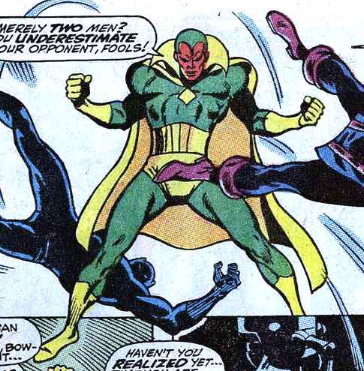Buscema Avengers 57 Behold Vision