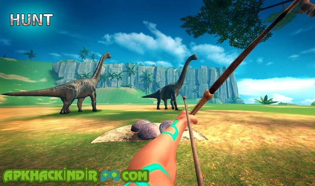 ark survival island evolve 3d 1.02 hile apk
