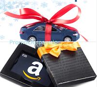 Logo Auto Europe: vinci noleggio auto e buoni Amazon