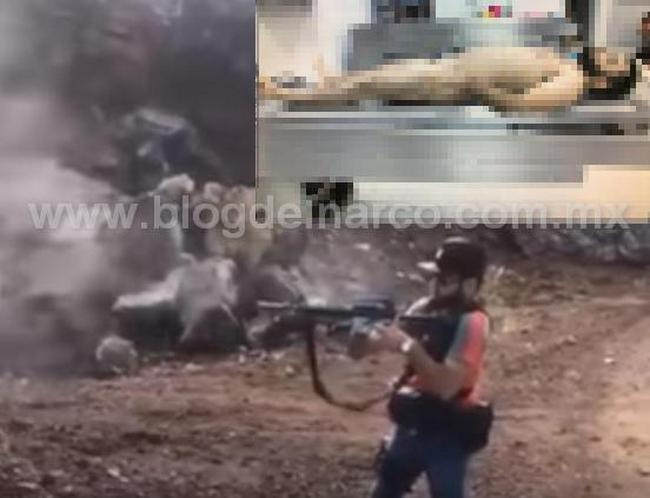 """La Ultima de """"El Árabe"""", vídeo inédito de EL ÁRABE líder del CJNG en Michoacán"""