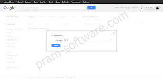 Proses Unggah Di Google Sites