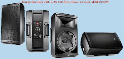 Harga Speaker JBL