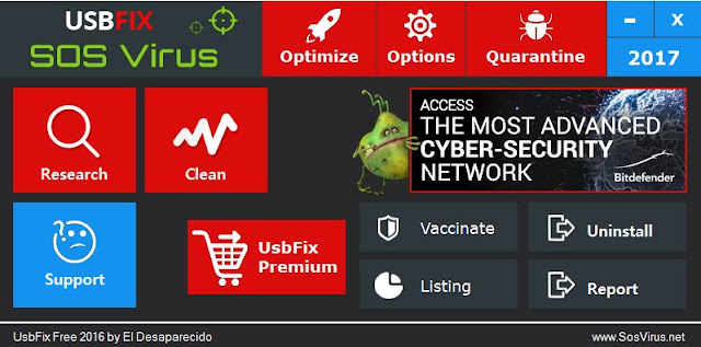 Menghapus virus shortcut dengan software