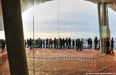 Elbphilharmonie Plaza Aussichtsplattform